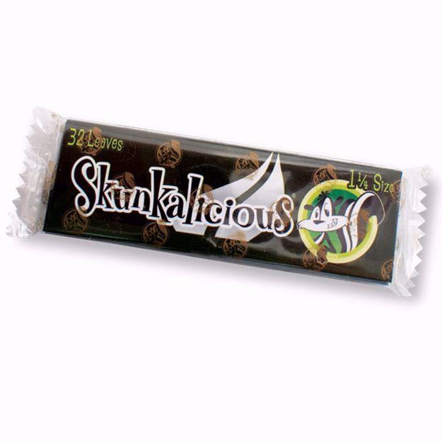 SKUNK 1 1/4 SIZE MENTHOLICIOUS FLAVORED ROLLING PAPERS