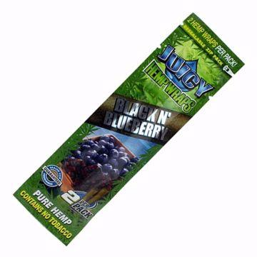 JUICY JAYS BLACK N' BLUEBERRY HEMP WRAPS