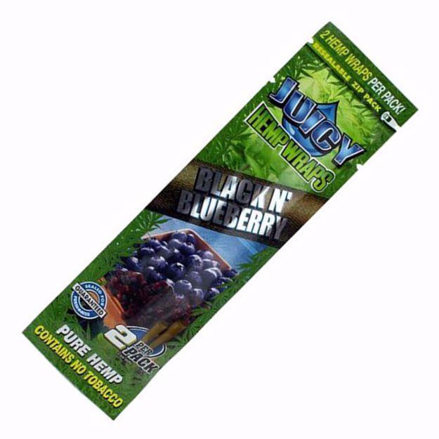 JUICY JAYS BLACK N' BLUEBERRY HEMP WRAPS