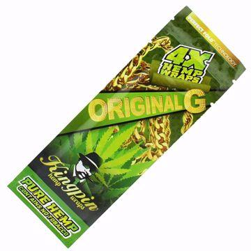 KINGPIN ORIGINAL HEMP WRAPS 4X