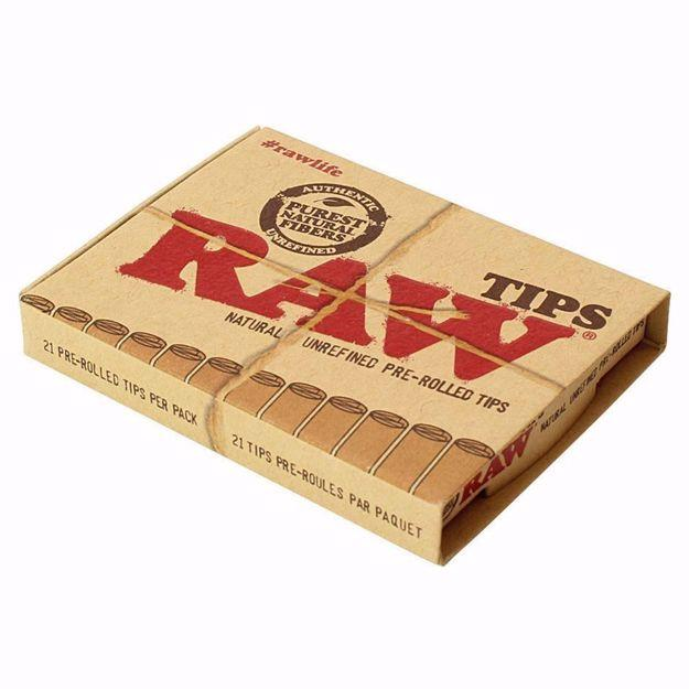 RAW ROLLING TIPS PRE-ROLLED