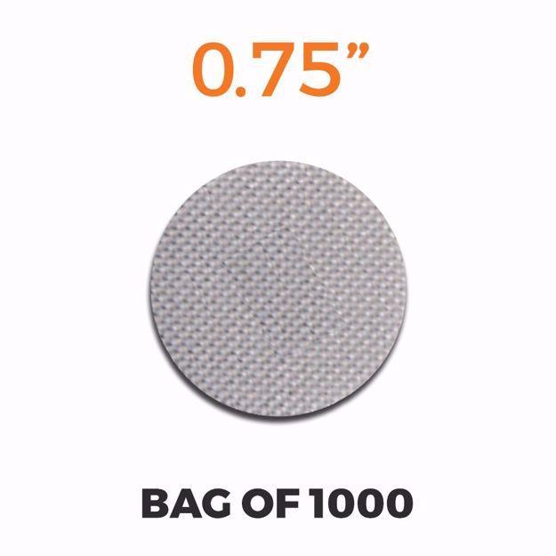 PIPE SCREENS - STAINLESS STEEL .75 (1000 SCREENS)