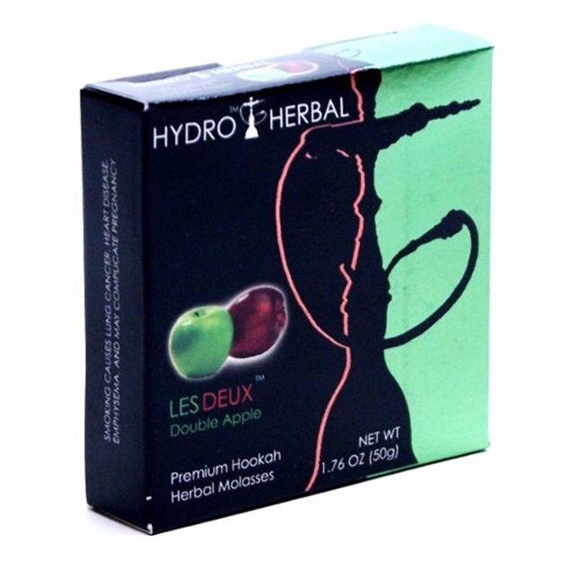 HYDRO HERBAL LESS DEUX SHISHA (DOUBLE APPLE)