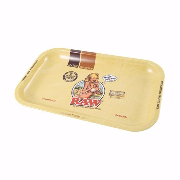 RAW BIKING GIRL TRAY SMALL