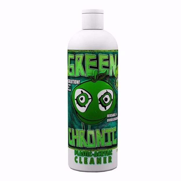 ORANGE CHRONIC GREEN CHRONIC PLASTIC/ACRYLIC CLEANER