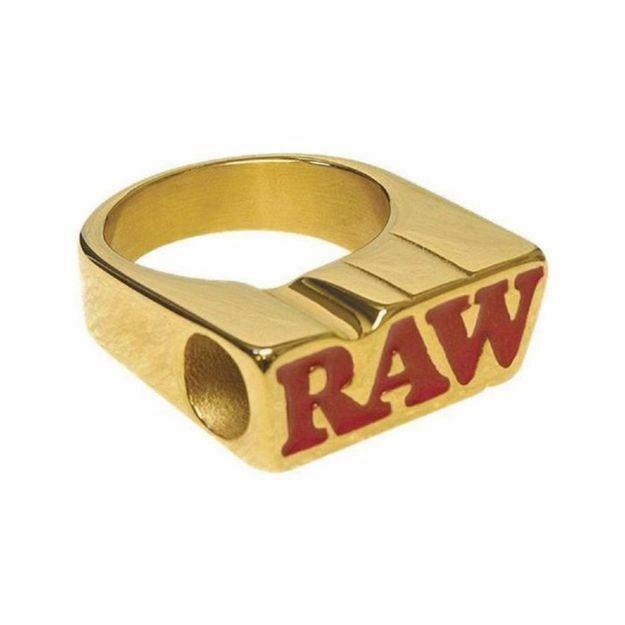 RAW SMOKE RING SIZE 9