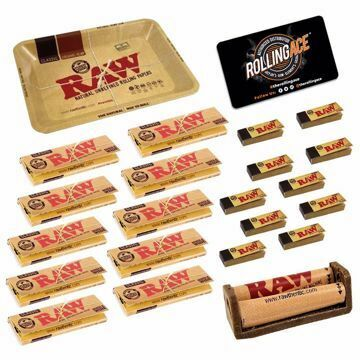 RAW CLASSIC SINGLE WIDE MASTER SET STARTER BUNDLE WITH TIPS