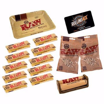 RAW CLASSIC SINGLE WIDE MASTER SET STARTER BUNDLE WITH FILTERS