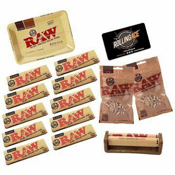 RAW CLASSIC 1 1/4 SIZE MASTER SET STARTER BUNDLE WITH FILTERS