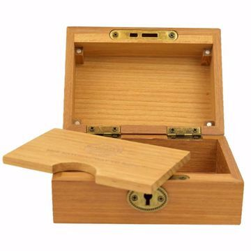 RAW NATURAWL TEAKWOOD SMOKERS BOX