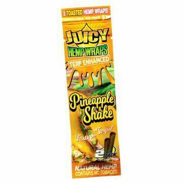 JUICY JAY'S PINEAPPLE SHAKE TERP ENHANCED HEMP WRAPS