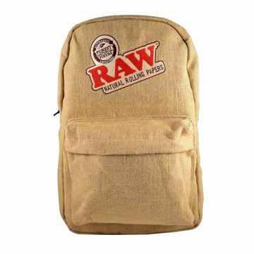 RAW BURLAP SMELL PROOF BAG STYLE 2
