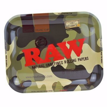 RAW CAMO ROLLING TRAY LARGE