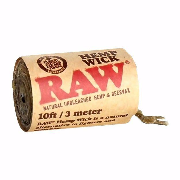 RAW HEMP WICK 10 FEET