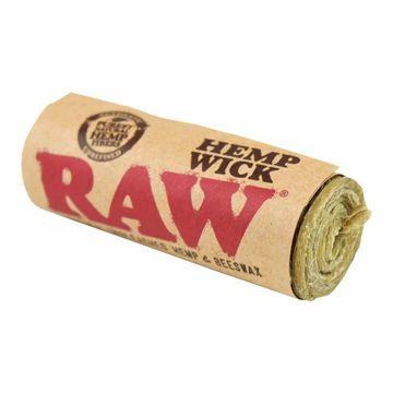 RAW HEMP WICK 20 FEET