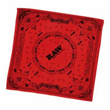 RAW BANDANA RED