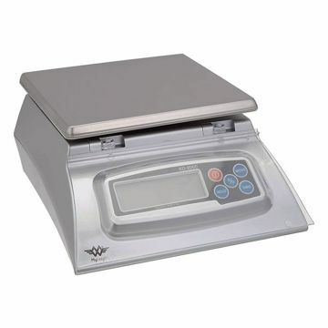 MY WEIGH SCALE KD 8000 SILVER BAKERS MATH SCALE