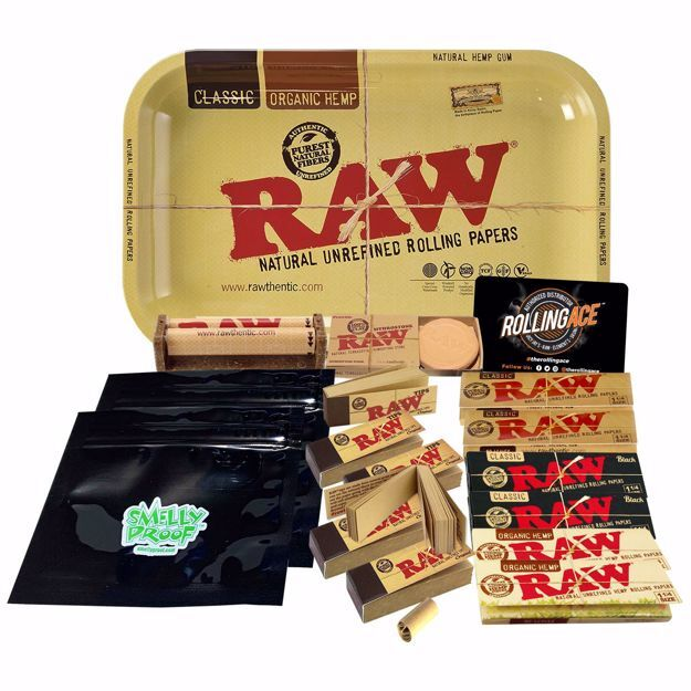 Raw 1 1/4 Rolling Papers Taster Bundle