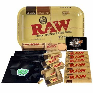 Raw 1 1/4 Classic Bundle with Tray