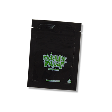 SMELLY PROOF XX-SMALL BLACK STORAGE BAGS