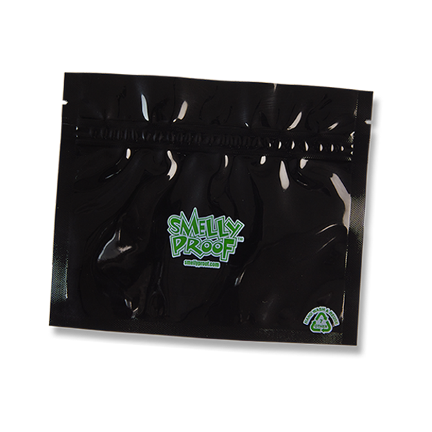 SMELLY PROOF SMALL BLACK STORAGE BAGS