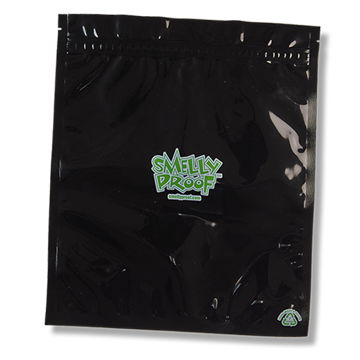 SMELLY PROOF LARGE BLACK STORAGE BAGS