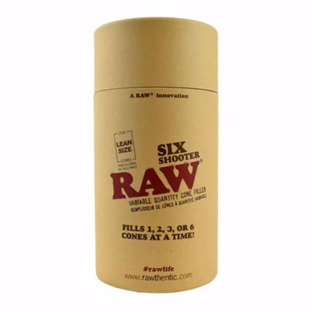 RAW LEAN SIZE SIX SHOOTER VARIABLE QUANTITY CONE FILLER