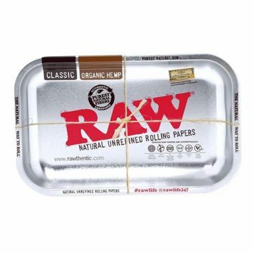 RAW STEEL ROLLING TRAY - SMALL